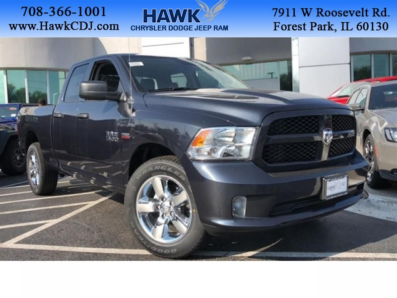 Pre-Owned 2018 Ram 1500 4WD Express 4WD 4x4 Quad Cab 6'4