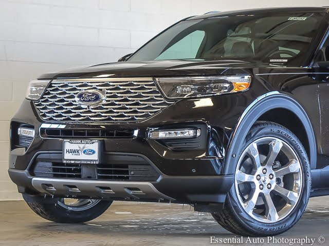New 2020 Ford Explorer Platinum 4WD SUV
