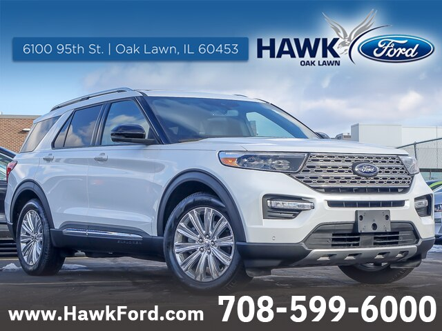 New 2020 Ford Explorer Limited RWD SUV