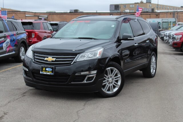 Pre-Owned 2015 Chevrolet Traverse LT w/1LT FWD SUV