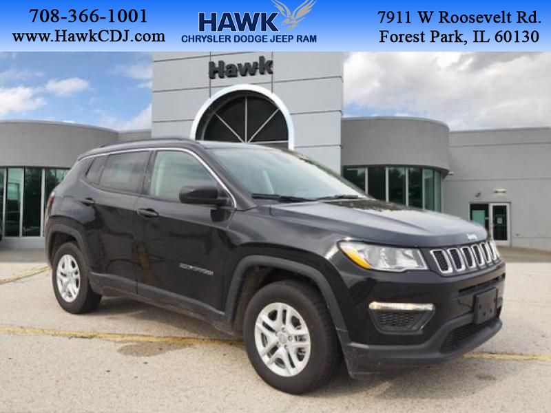 Pre-Owned 2019 Jeep Compass Sport FWD FWD