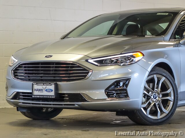 New 2020 Ford Fusion SEL FWD Sedan