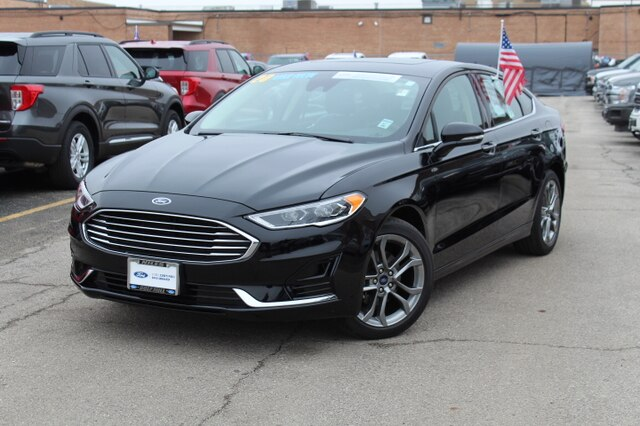 Pre-Owned 2020 Ford Fusion SEL FWD Sedan