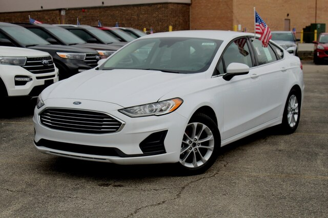 New 2020 Ford Fusion SE FWD Sedan