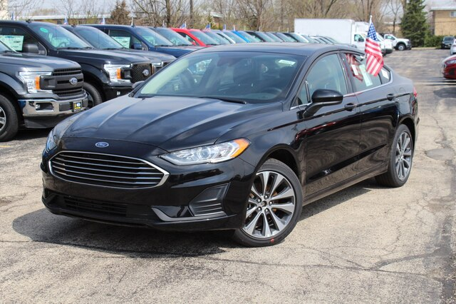 New 2020 Ford Fusion SE AWD Sedan