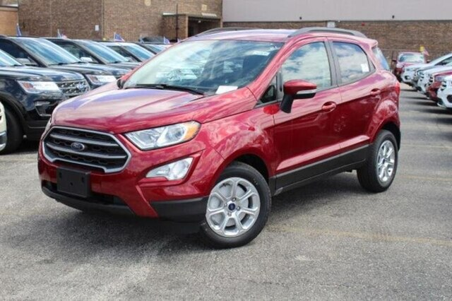 New 2020 Ford EcoSport SE FWD SUV