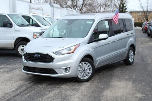 New 2020 Ford Transit Connect Titanium w/Rear Liftgate FWD Large Van