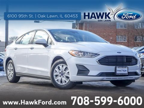 New 2020 Ford Fusion S FWD Sedan